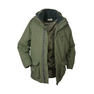 Hubertus Jagdjacke 3 in 1 FOREST